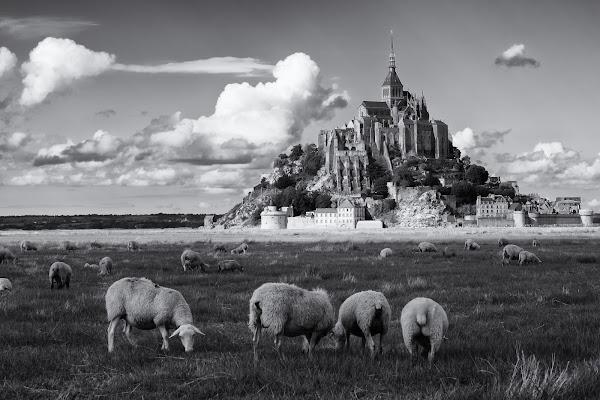Le Mont-Saint-Michel di carlo_brambilla