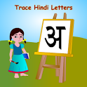 Trace Hindi Alphabets for Kids icon