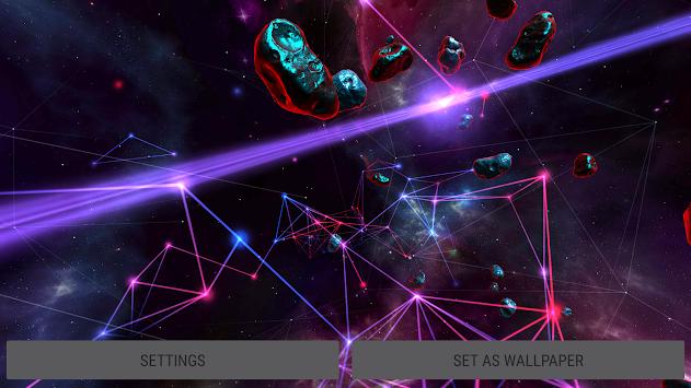 ... Particle Plexus Sci-Fi 3D Live Wallpaper poster ...