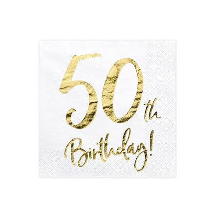 Servetter - 50th birthday