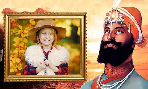 Guru Gobindh Singh Ji Photo Frames - náhled
