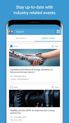 Screenshots des Shared Services Network 5