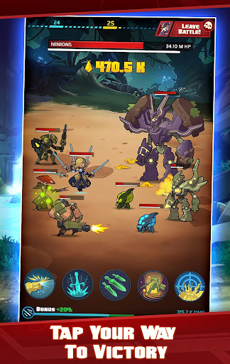 Battleborn Tap - screenshot
