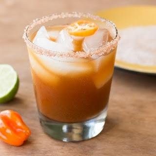 Habanero Pumpkin Spiced Margarita