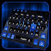 Black Blue Keyboard Android APK Download Free By Jessie Keyboard Theme