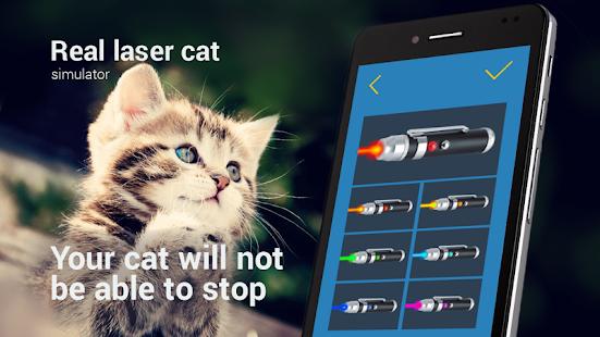 Skutečný laser cat simulator - náhled