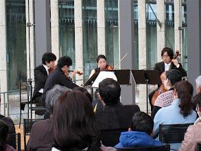Photo: 公開レッスンで選考された生徒さんをメンバーに迎えて。in長崎県美術館