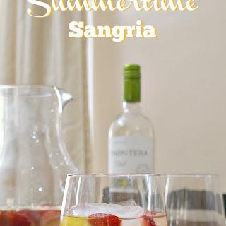 Sparkling Summertime Sangria.