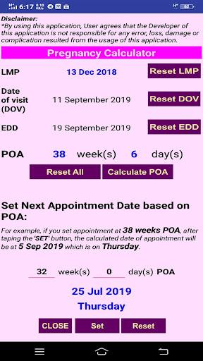 Pregnancy Calculator Malaysia ss1