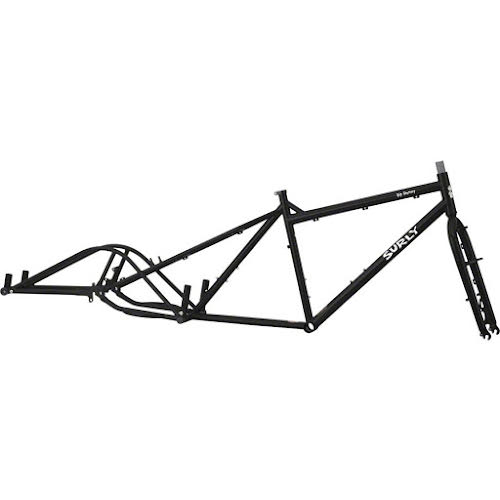Surly Big Dummy Cargo Bike Frameset - Blacktacular