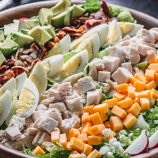 Chicken Cobb Salad with Cobb Salad Dressing Recipe