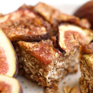 Caramel Fig Pretzel Bars