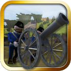 Gettysburg Cannon Battle USA icon