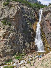 Photo: Below the falls