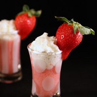 Strawberry Milkshake Shots.