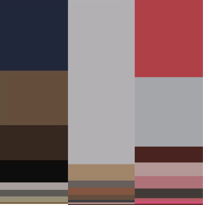 Steven color breakdown