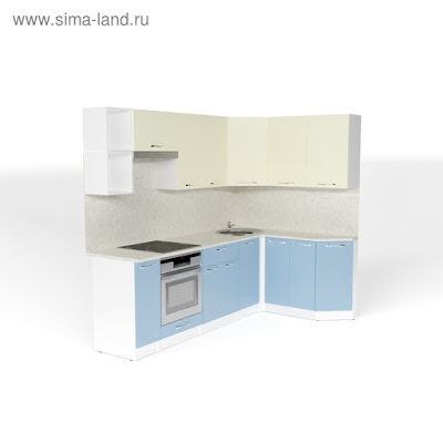Кухонный гарнитур Алиса прайм 5 2300*1500 мм