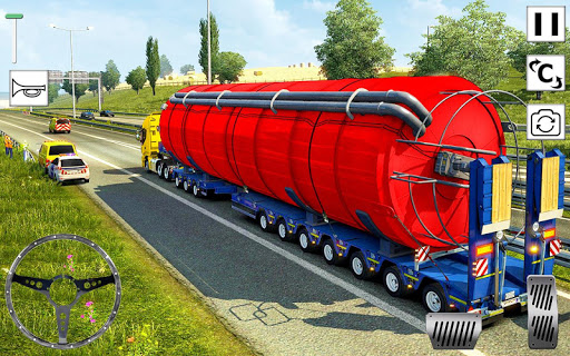 Euro Truck Driver 3D: Top Driving Game 2020 0.1 screenshots 6