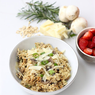 Rosemary Swiss Oatmeal with Mushrooms