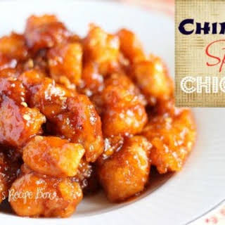 Chinese Spicy Chicken Recipes.