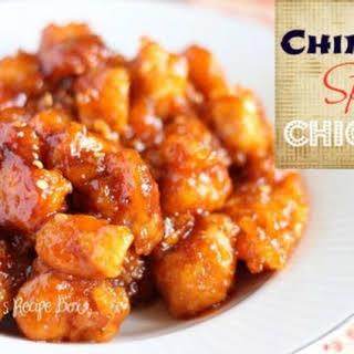 Chinese Spicy Chicken.