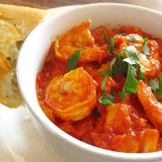 Shrimp Fra Diavolo.
