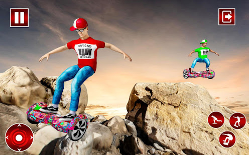 Off Road Hoverboard Stunts for PC-Windows 7,8,10 and Mac apk screenshot 10