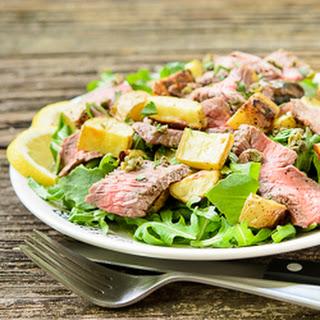 Lemon Pepper Steak Salad