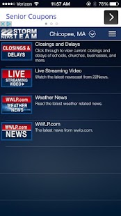 WWLP WX- screenshot thumbnail