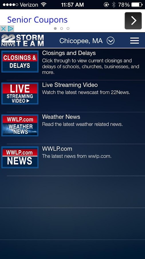 WWLP WX- screenshot