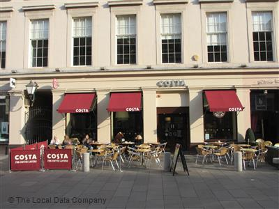 Costa On Royal Exchange Square Coffee Shops In City Centre