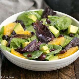 Citrus Spinach Salad with Avocados and Oranges Recipe