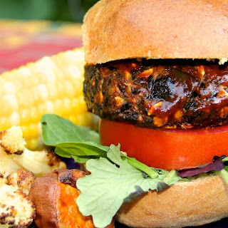Black Rice Vegan Burger (Gluten-free)