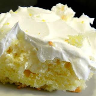 Lemon Poke Cake.