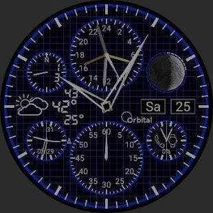 Orbital Weather for Watchmaker - náhled