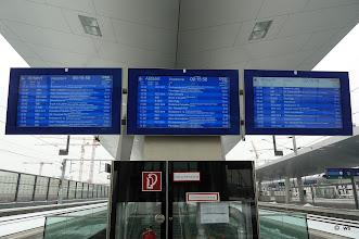 Photo: vienna departures