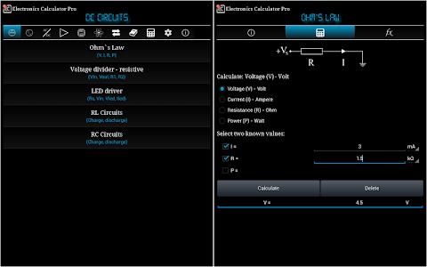 Electronics Calculator Pro v1.2.1