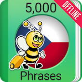 Learn Czech Phrasebook - 5000 Phrases