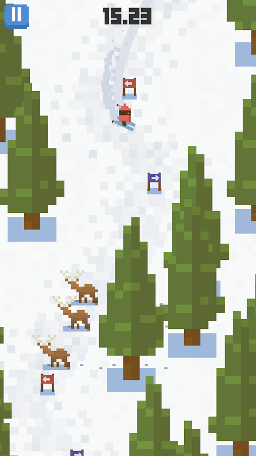 Skiing Yeti Mountain- screenshot