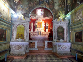 Photo: The interior of the church was very nice.