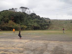 Photo: 三宇田浜で野球