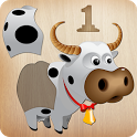 Animals Puzzle for Kids 🦁🐰🐬🐮🐶🐵 icon