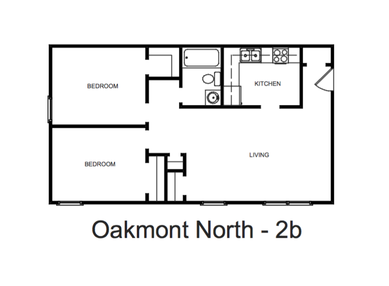Two Bed Deluxe Oakmont North Apartments In Norfolk Va