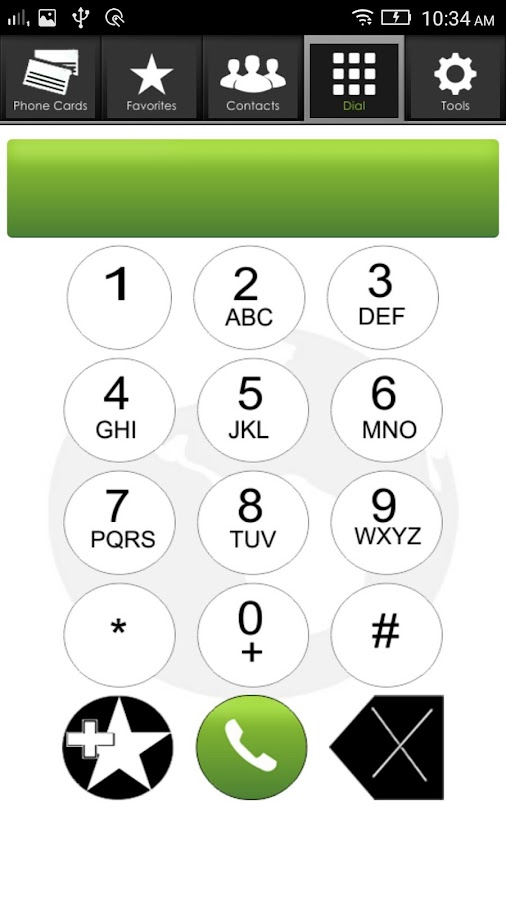 Phone Card Dialer Pro- screenshot