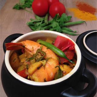 Thai Coconut Prawn Curry