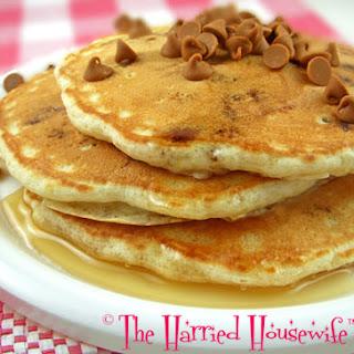 Cinnamon Chip Pancakes.