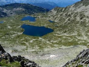 Photo: Tuc de Marimanya, 2662m: guardando ai laghi de Rosari de Baciver.