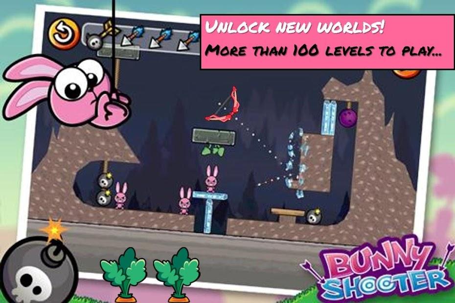 Bunny Shooter Free Funny Archery Game screenshot 10
