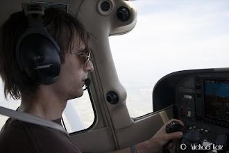 Photo: Michael er fartøysjef fra Bembridge til Lydd.