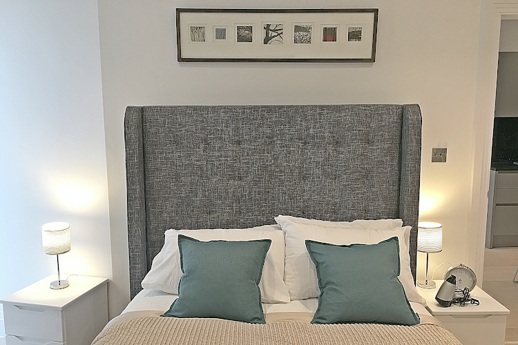 Bedroom at Oxford Circus Apartments